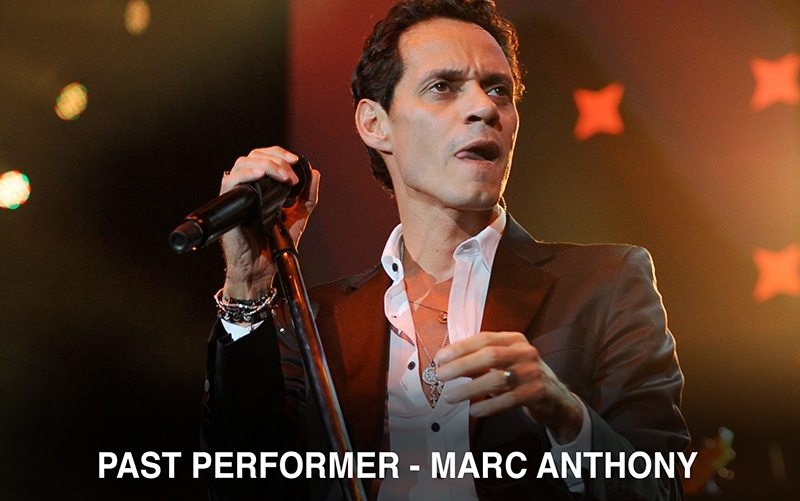 Marc Anthony at air and sea show