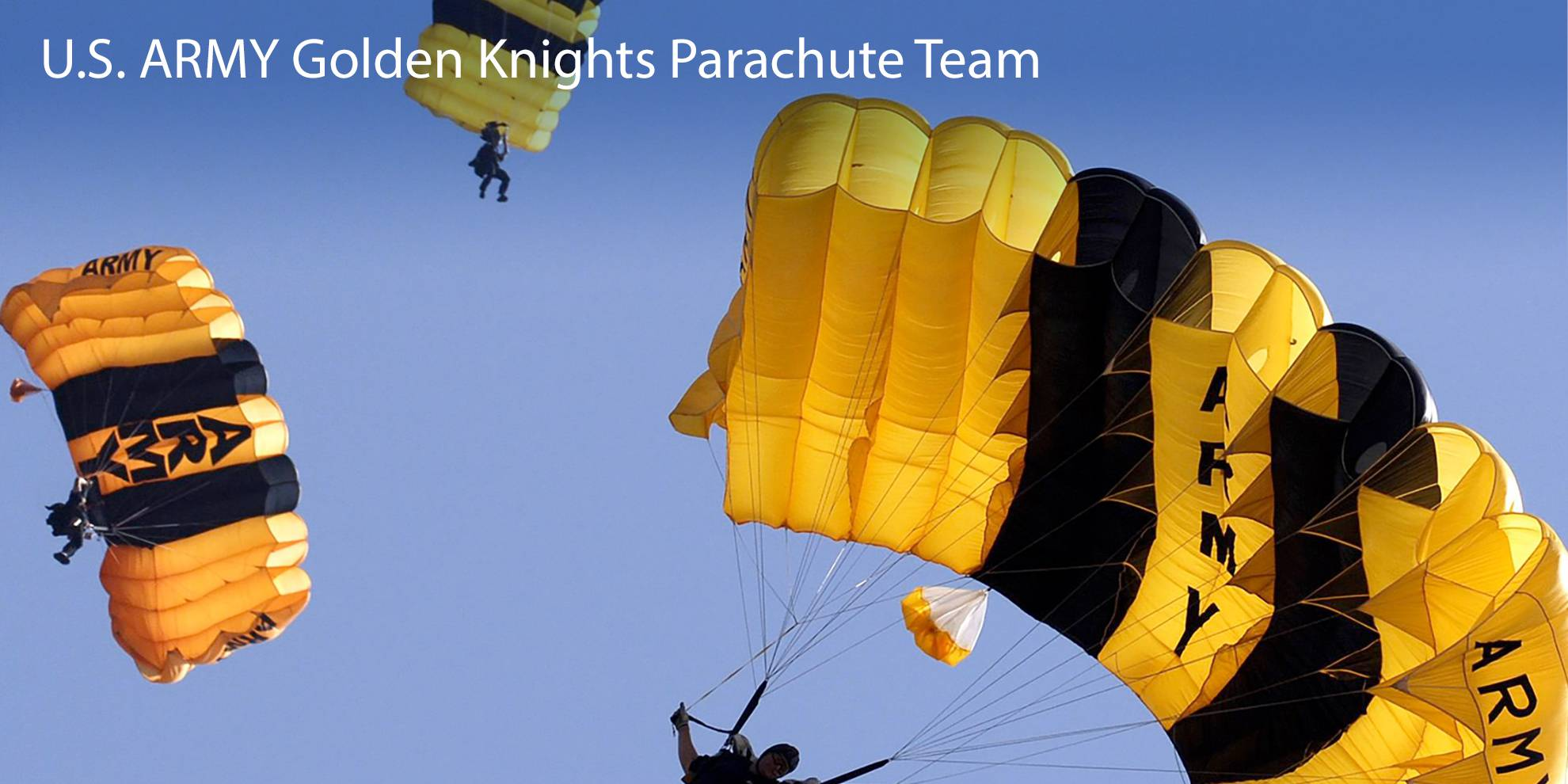 U.S. ARMY Golden Knights Parachute Team