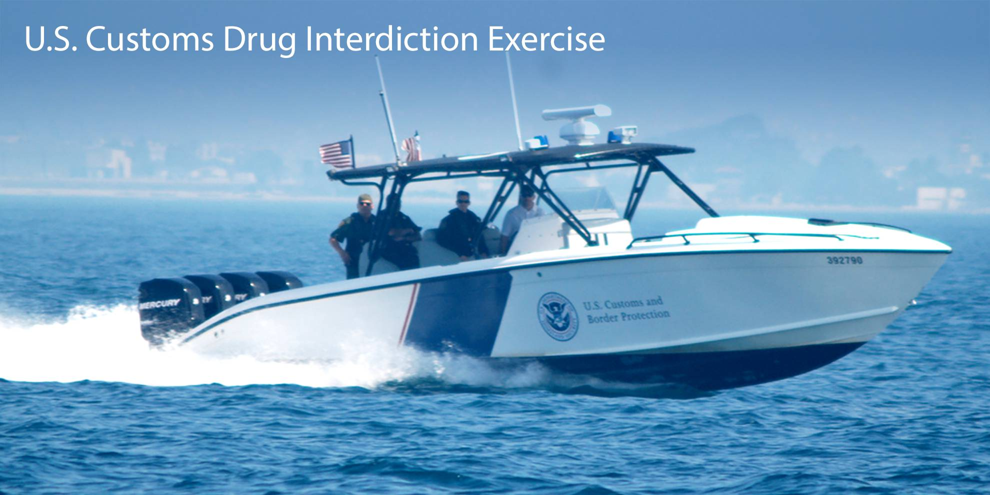 US Customs Drug Interdiction Demonstration