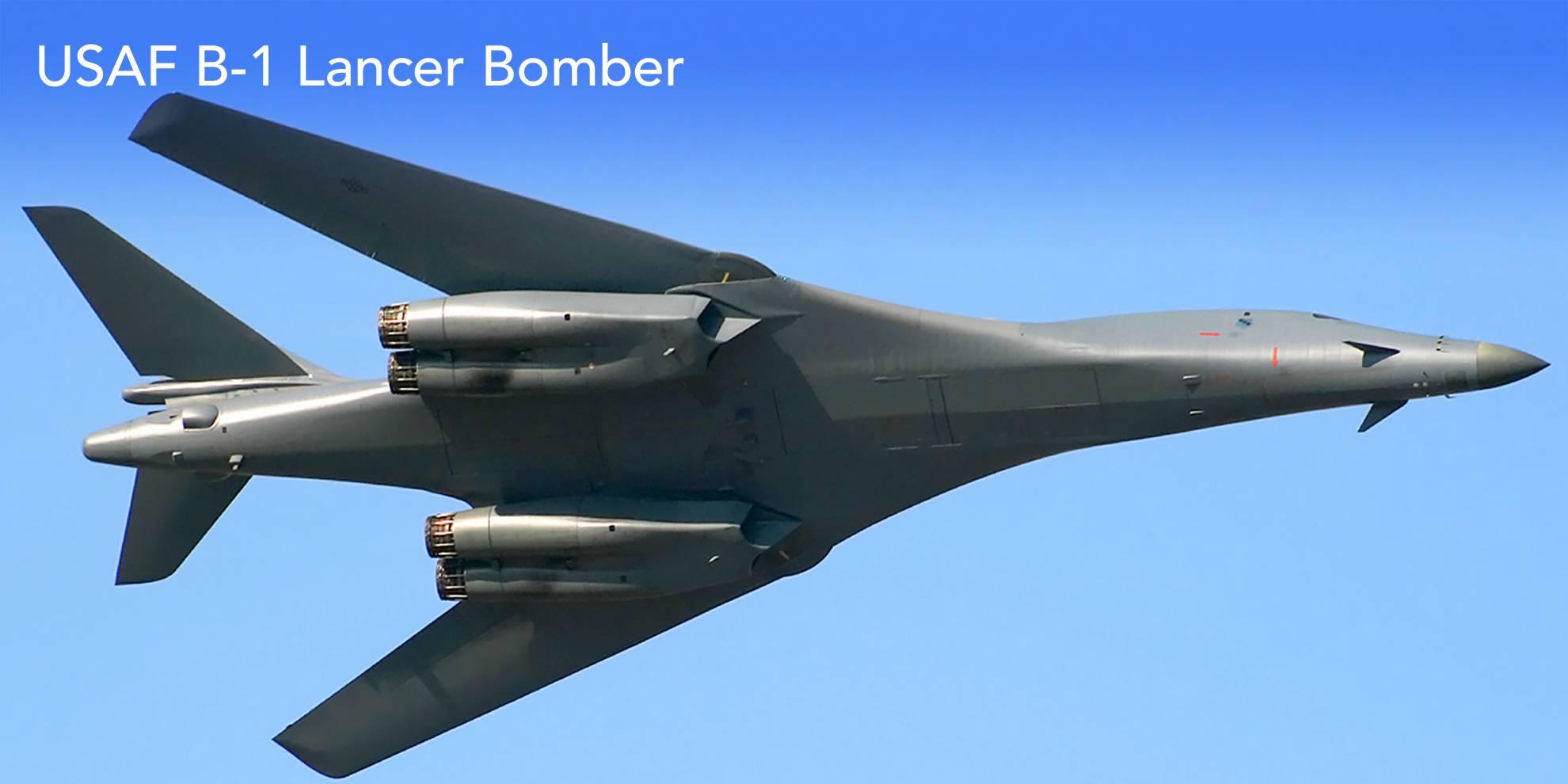 USAF B-1 Lancer Bomber