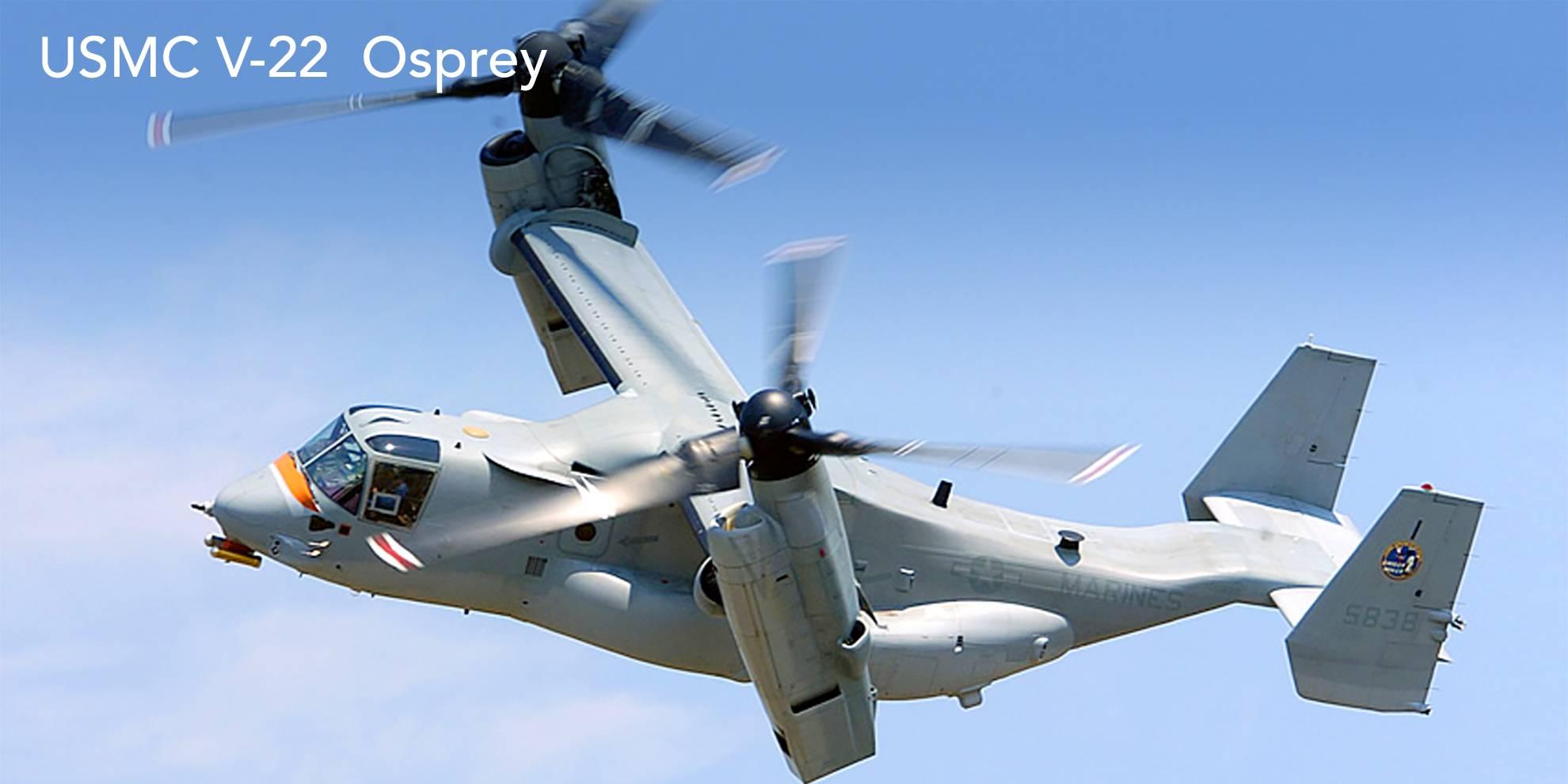 USMC V-22 Osprey