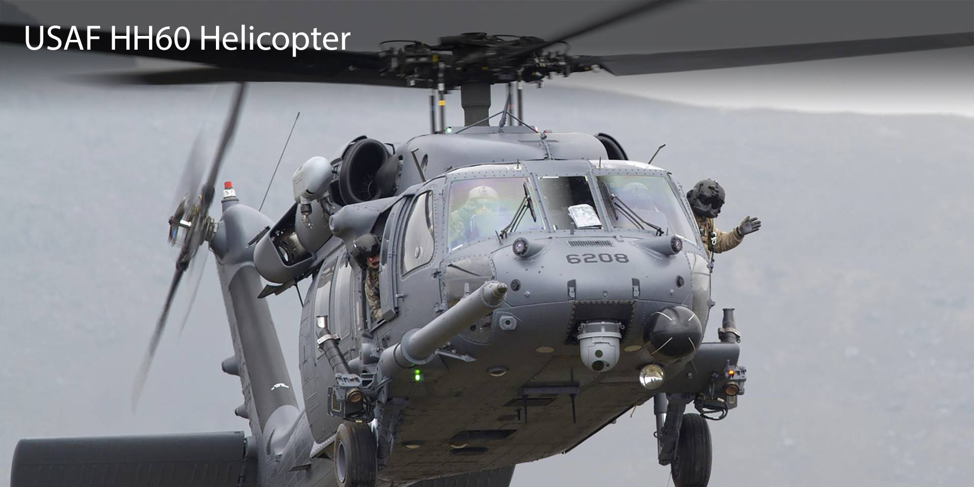 USAF HH60 Helicopters