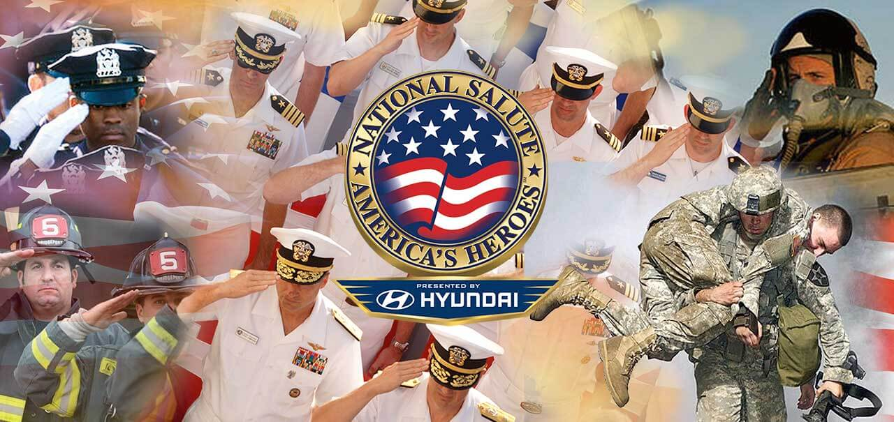 National Salute to America's Heroes presented by Hyundai Miami Beach Memorial Day weekend.